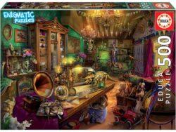 anticuario enigmatic puzzle