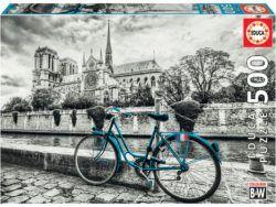 Notre Dame en blanco y negro
