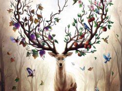 ciervo magico