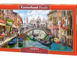 puzzles castorland 4000 piezas encantos de venecia