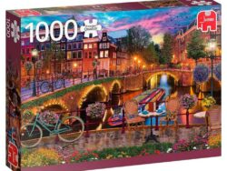 canales amsterdam puzzle jumbo