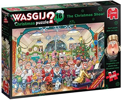 christmas wasgij 16 puzzle jumbo