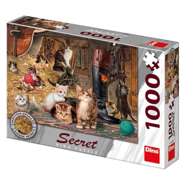 1000 SECRET PUZZLE- GATOS