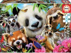selfie amigos animales
