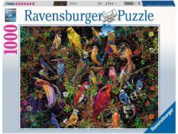 aves de arte 1000 piezas ravensburger puzzles de pájaros