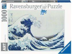 la gran ola de kanagawa ravensburger 1000 piezas