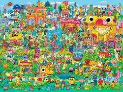 doodle village