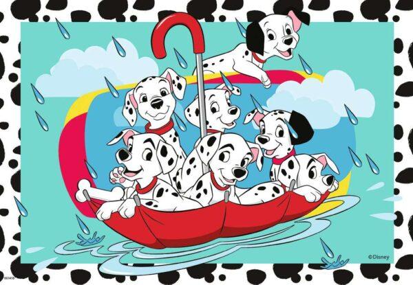 cachorros favoritos de disney 2x24 piezas