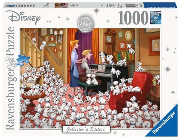 puzzle 101 dalmatas 1000 piezas ravensburger