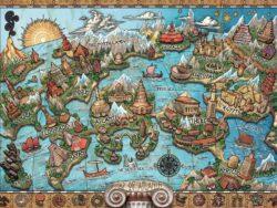 atlantis misteriosa 16728 1000 piezas ravensburger