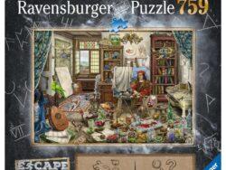 puzzle escape puzzles 16843 el estudio del artista