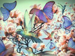 puzzle hummingbird colibri300 piezas adulto ravensburger