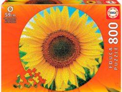 girasol puzzle educa circular redondo 800 piezas