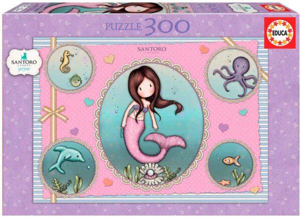 nice to sea you puzzle gorjuss 300 piezas educa