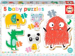 baby lemon ribbon puzzles infantiles educa