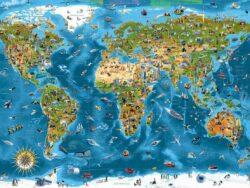 maravillas del mundo puzzle educa 12000 piezas