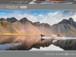 caballos de islandia puzzle heye 1000 piezas A V Humboldt