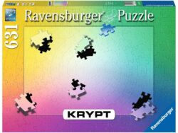 puzzle krypt gradiente 631 piezas ravensburger puzzles tu me completas