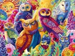 puzzle 1000 piezas bluebird buhos