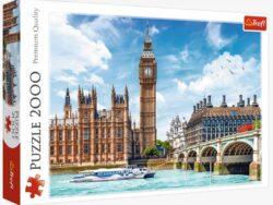 puzzle big ben 2000 piezas de Trefl Londres - ref 27120