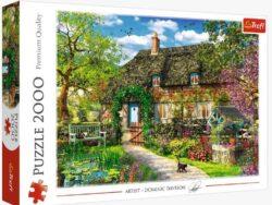 casa de campo - puzzle Trefl 200 piezas - puzzles tú me completas - 27122