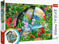 puzzle trefl 1040 piezas corte spiral puzzles tú me completas