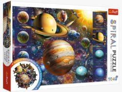 puzzle spiral de trefl sistema solar 1040 piezas
